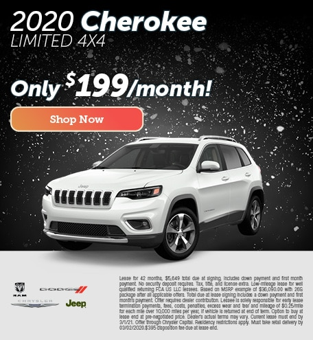 2020 Cherokee Lease