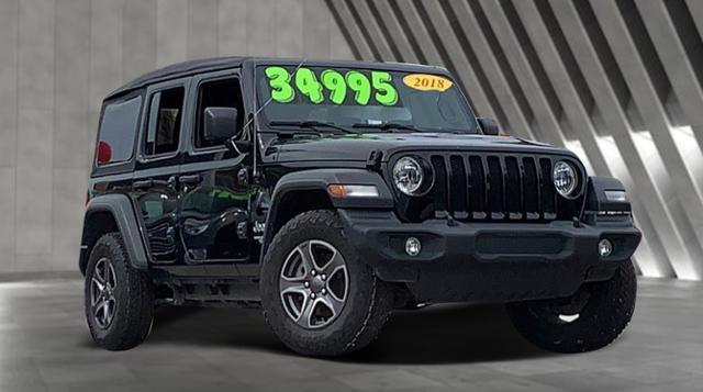 Used 2018 Jeep Wrangler Unlimited Sport 4x4 SUV Corpus Christi, TX