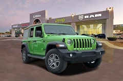 New 2020 Jeep Wrangler UNLIMITED BLACK AND TAN 4X4 Sport Utility Corpus Christi