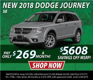 New 2018 Dodge Journey