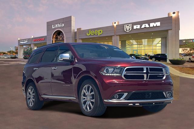 2018 Dodge Durango CITADEL ANODIZED PLATINUM RWD Sport Utility