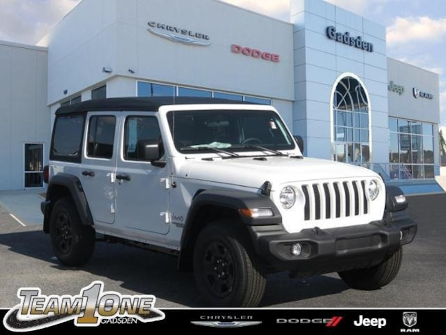 New  2018 Jeep Wrangler UNLIMITED SPORT 4X4 Sport Utility For Sale/Lease Gadsden, AL