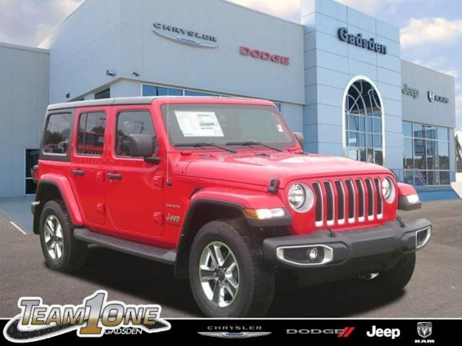 New  2018 Jeep Wrangler UNLIMITED SAHARA 4X4 Sport Utility For Sale/Lease Gadsden, AL