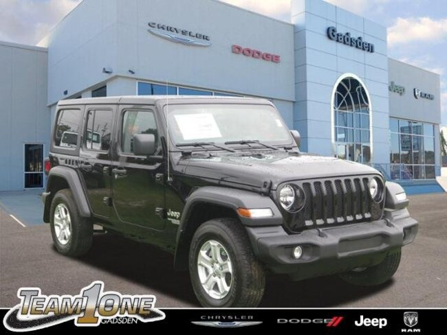New  2018 Jeep Wrangler UNLIMITED SPORT S 4X4 Sport Utility For Sale/Lease Gadsden, AL