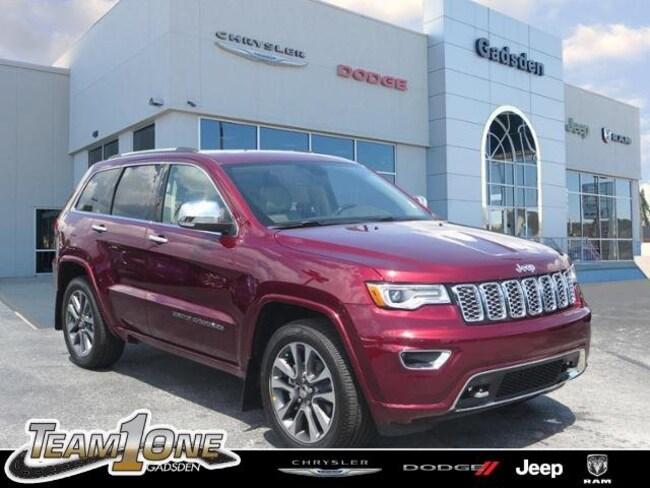 New  2018 Jeep Grand Cherokee OVERLAND 4X2 Sport Utility For Sale/Lease Gadsden, AL