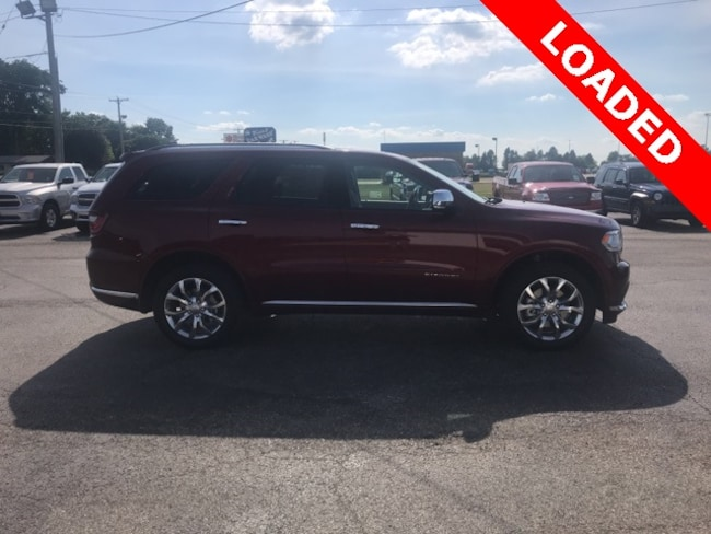 New 2018 Dodge DURANGO CITADEL AWD CITADEL AWD Sport Utility for sale in Hoopeston, IL
