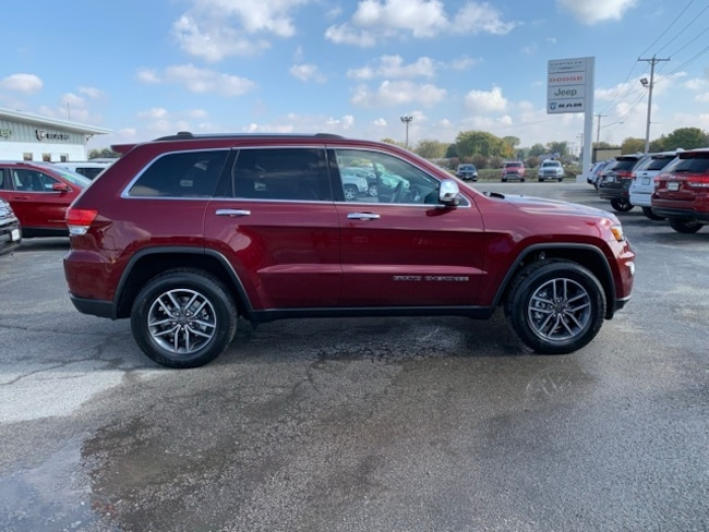 New 2019 Jeep GRAND CHEROKEE LIMITED 4X4 LIMITED 4X4 Sport Utility for sale in Hoopeston, IL