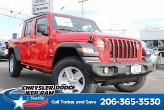 New 2020 Jeep Gladiator SPORT S 4X4 Crew Cab serving Tacoma