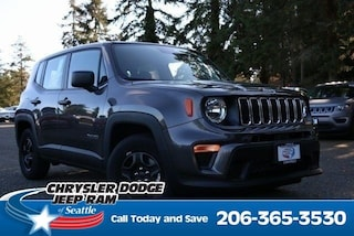 New 2019 Jeep Renegade SPORT FWD Sport Utility serving Tacoma