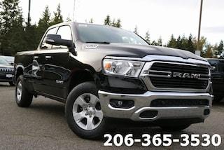 New 2020 Ram 1500 BIG HORN QUAD CAB 4X4 6'4 BOX Quad Cab 1C6SRFBT8LN141535 141535 near Tacoma