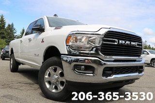New 2019 Ram 2500 BIG HORN CREW CAB 4X4 8' BOX Crew Cab 3C6UR5JL6KG626431 626431 serving Tacoma