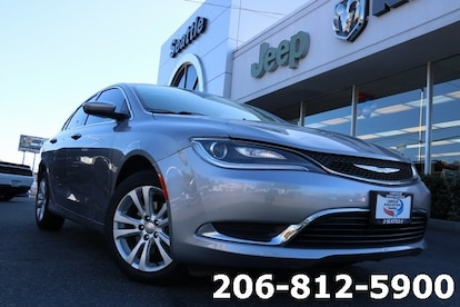 Chrysler Dodge Jeep Ram Of Seattle >> Used 2015 Chrysler 200 Limited For Sale Seattle Wa Vin