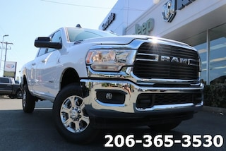 New 2019 Ram 2500 BIG HORN CREW CAB 4X4 6'4 BOX Crew Cab 3C6UR5DL0KG624668 624668 serving Tacoma