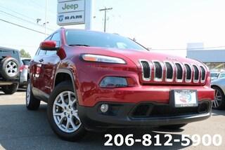 Used 2016 Jeep Cherokee Latitude 4x4 SUV 1C4PJMCS6GW202803 B3216 for sale in Seattle, WA