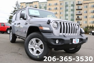 New 2019 Jeep Wrangler UNLIMITED SPORT S 4X4 Sport Utility serving Tacoma