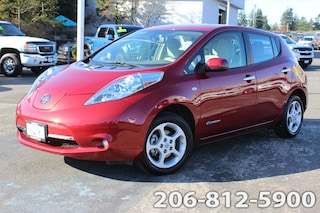Used 2011 Nissan LEAF Hatchback JN1AZ0CP1BT002122 066133A for sale in Seattle, WA
