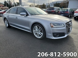 Used 2017 Audi A8 L 4.0T Sport Sedan WAU43AFD2HN008962 B3512 for sale in Seattle, WA