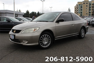 Used 2005 Honda Civic LX Coupe 1HGEM22535L080528 531903A for sale in Seattle, WA
