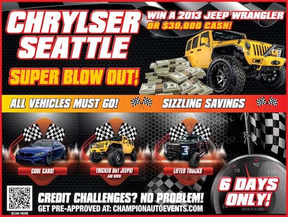 Chrysler Dodge Jeep Ram Of Seattle >> Contest Chrysler Dodge Jeep Ram Of Seattle