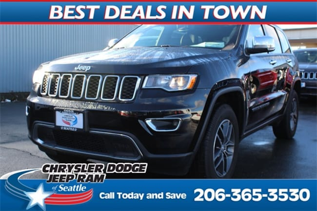 New 2018 Jeep Grand Cherokee LIMITED 4X4 Sport Utility for sale in Seattle, WA