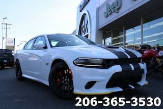 New 2019 Dodge Charger R/T SCAT PACK RWD Sedan 2C3CDXGJ3KH716290 716290 serving Tacoma