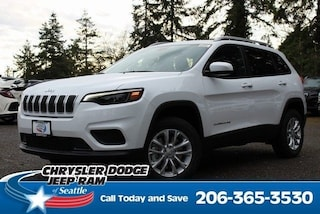 New 2020 Jeep Cherokee LATITUDE 4X4 Sport Utility serving Tacoma