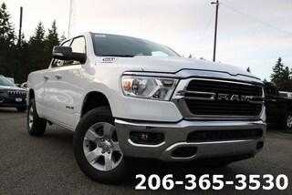 New 2020 Ram 1500 BIG HORN QUAD CAB 4X4 6'4 BOX Quad Cab 1C6SRFBT7LN141574 141574 near Tacoma