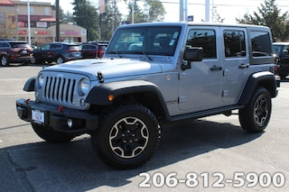 Used 2016 Jeep Wrangler JK Unlimited Rubicon 4x4 SUV 1C4BJWFG4GL161702 122688A for sale in Seattle, WA