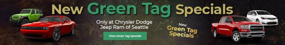 New Green Tag Specials