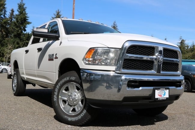 New 2018 Ram 3500 TRADESMAN CREW CAB 4X4 6'4 BOX Crew Cab for sale in Seattle, WA