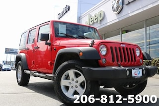 Certified Pre-Owned 2016 Jeep Wrangler JK Unlimited Sport 4X4 SUV for sale in Seattle, WA