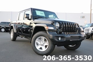 New 2020 Jeep Gladiator SPORT S 4X4 Crew Cab 1C6JJTAG2LL140043 140043 serving Tacoma