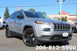 Certified Pre-Owned 2017 Jeep Cherokee Sport FWD SUV for sale in Seattle, WA