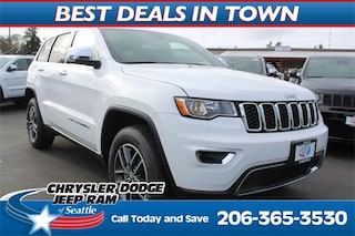 New 2018 Jeep Grand Cherokee LIMITED 4X4 Sport Utility 1C4RJFBG2JC509881 509881 serving Tacoma
