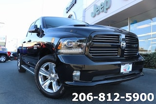 Used 2017 Ram 1500 Sport Truck Quad Cab 1C6RR7HT3HS624273 B3269 for sale in Seattle, WA