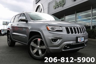 Used 2016 Jeep Grand Cherokee Overland 4x4 SUV 1C4RJFCGXGC490357 537691B for sale in Seattle, WA