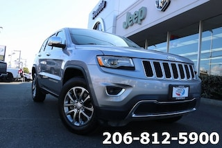 Used 2015 Jeep Grand Cherokee Limited 4x4 SUV 1C4RJFBM0FC866747 B3329 for sale in Seattle, WA