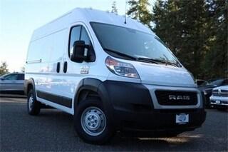 New 2019 Ram ProMaster 1500 CARGO VAN HIGH ROOF 136 WB Cargo Van 3C6TRVBG6KE511997 511997 serving Tacoma