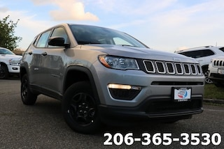 New 2019 Jeep Compass SPORT 4X4 Sport Utility serving Tacoma