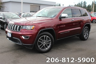 Certified Pre-Owned 2018 Jeep Grand Cherokee Limited RWD SUV for sale in Seattle, WA