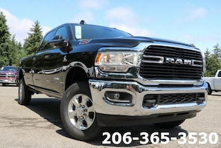 New 2019 Ram 2500 BIG HORN CREW CAB 4X4 8' BOX Crew Cab 3C6UR5JL0KG626442 626442 serving Tacoma