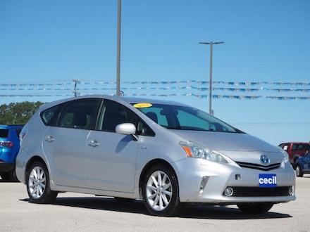 2012 Toyota Prius v Three Sedan