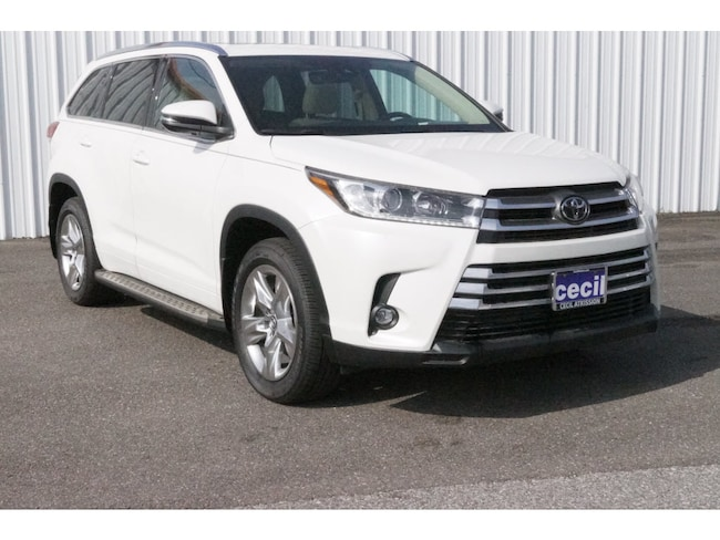 New 2019 Toyota Highlander Limited V6 SUV in Orange, TX