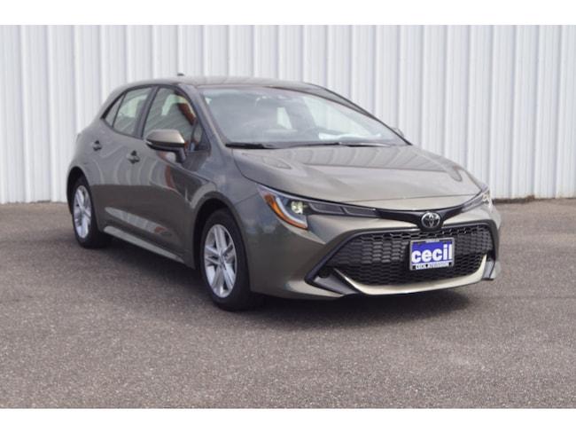 New 2019 Toyota Corolla Hatchback SE Hatchback in Orange, TX