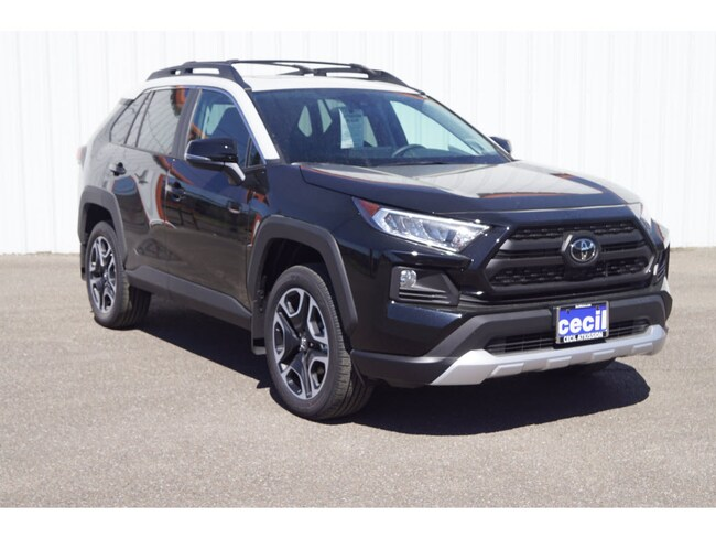 New 2019 Toyota RAV4 Adventure SUV in Orange, TX