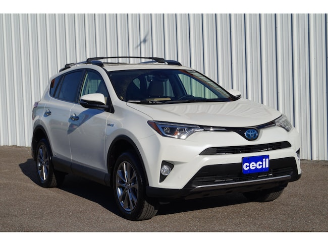 New 2018 Toyota RAV4 Hybrid Limited SUV in Orange, TX