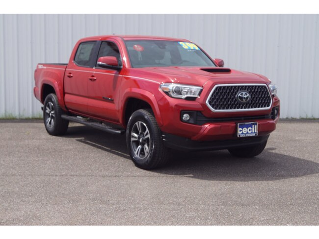 New 2019 Toyota Tacoma TRD Sport V6 Truck Double Cab in Orange, TX