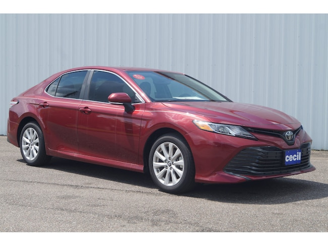 New 2019 Toyota Camry LE Sedan in Orange, TX