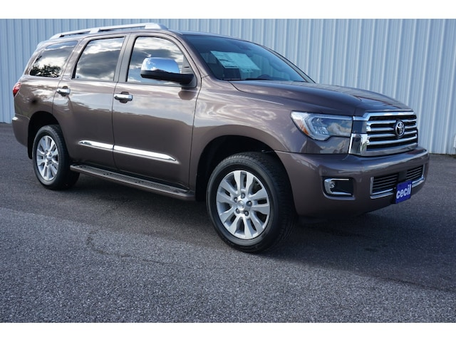New 2019 Toyota Sequoia Platinum For Sale In Orange Tx Vin