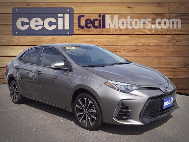 Used 2018 Toyota Corolla Sedan in Orange, TX